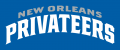 New Orleans Privateers 2013-Pres Wordmark Logo 07 iron on sticker