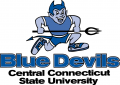 Central Connecticut Blue Devils 1994-2010 Primary Logo iron on sticker