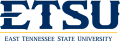 ETSU Buccaneers 2014-Pres Wordmark Logo 12 iron on sticker