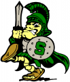 Michigan State Spartans 2000-Pres Mascot Logo iron on sticker