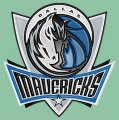 Dallas Mavericks Plastic Effect Logo decal sticker