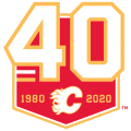 Calgary Flames 2019 20 Anniversary Logo decal sticker