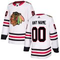 Chicago Blackhawks Custom Letter and Number Kits for White Jersey