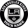 Los Angeles Kings Customized Logo decal sticker