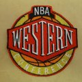 NBA Western Conference Embroidery logo
