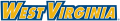 West Virginia Mountaineers 2002-Pres Wordmark Logo 01 iron on sticker