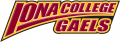 Iona Gaels 2003-2012 Wordmark Logo 05 iron on sticker