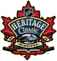NHL Heritage Classic 2016-2017 Logo iron on sticker