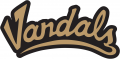 Idaho Vandals 2004-Pres Wordmark Logo 02 decal sticker