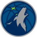Minnesota Timberwolves 2017-2018 Pres Alternate Logo 3 decal sticker