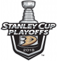 Anaheim Ducks 2017 18 Event Logo decal sticker