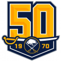 Buffalo Sabres 2019 20 Anniversary Logo iron on sticker
