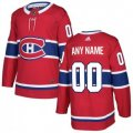 Montreal Canadiens Custom Letter and Number Kits for Red Jersey