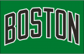 Boston Celtics 2005 06-Pres Jersey Logo decal sticker