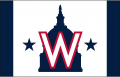 Washington Nationals 2020-Pres Cap Logo 02 decal sticker