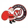 Washington Nationals Santa Claus Logo iron on sticker
