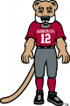 Washington State Cougars 2003-Pres Mascot Logo decal sticker