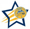 Denver Nuggets Basketball Goal Star logo iron on sticker
