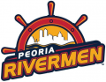 Peoria Rivermen 2013 14-2014 15 Primary Logo decal sticker