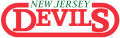 New Jersey Devils 1981 82-1989 90 Wordmark Logo decal sticker