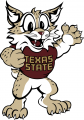 Texas State Bobcats 2008-Pres Mascot Logo decal sticker