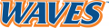 Pepperdine Waves 2004-Pres Wordmark Logo 01 decal sticker