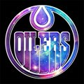 Galaxy Edmonton Oilers Logo iron on sticker