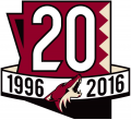 Arizona Coyotes 2016 17 Anniversary Logo decal sticker