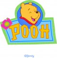 Disney Pooh Logo 21 decal sticker