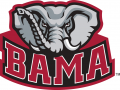 Alabama Crimson Tide 2001-Pres Alternate Logo 03 iron on sticker