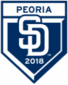 San Diego Padres 2018 Event Logo iron on sticker