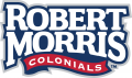 Robert Morris Colonials 2006-Pres Wordmark Logo 01 iron on sticker