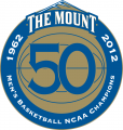 Mount St. Marys Mountaineers 2012 Anniversary Logo 02 iron on sticker