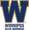 Winnipeg Blue Bombers 2012-Pres Secondary Logo iron on sticker