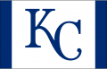Kansas City Royals 2013-Pres Batting Practice Logo decal sticker