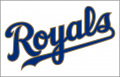 Kansas City Royals 2017-Pres Jersey Logo decal sticker