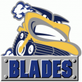 Saskatoon Blades 2000 01-2004 05 Primary Logo decal sticker