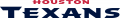Houston Texans 2002-Pres Wordmark Logo 02 decal sticker