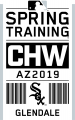 Chicago White Sox 2019 Event Logo decal sticker