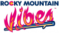 Rocky Mountain Vibes 2019-Pres Wordmark Logo decal sticker