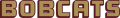 Texas State Bobcats 2008-Pres Wordmark Logo 01 decal sticker