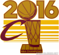 Cleveland Cavaliers 2015 16 Champion Logo decal sticker