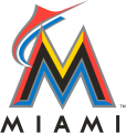 Miami Marlins 2012-2016 Primary Logo decal sticker