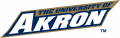 Akron Zips 2002-2007 Wordmark Logo iron on sticker