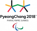 2018 Pyeongchang Paralympics 2018 Primary Logo iron on sticker
