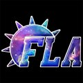 Galaxy Florida Panthers Logo iron on sticker