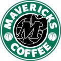 Dallas Mavericks Starbucks Coffee Logo decal sticker