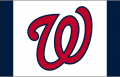 Washington Nationals 2013-2016 Batting Practice Logo decal sticker