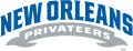 New Orleans Privateers 2013-Pres Wordmark Logo 01 iron on sticker