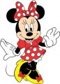 Minnie Mouse Logo 13 decal sticker